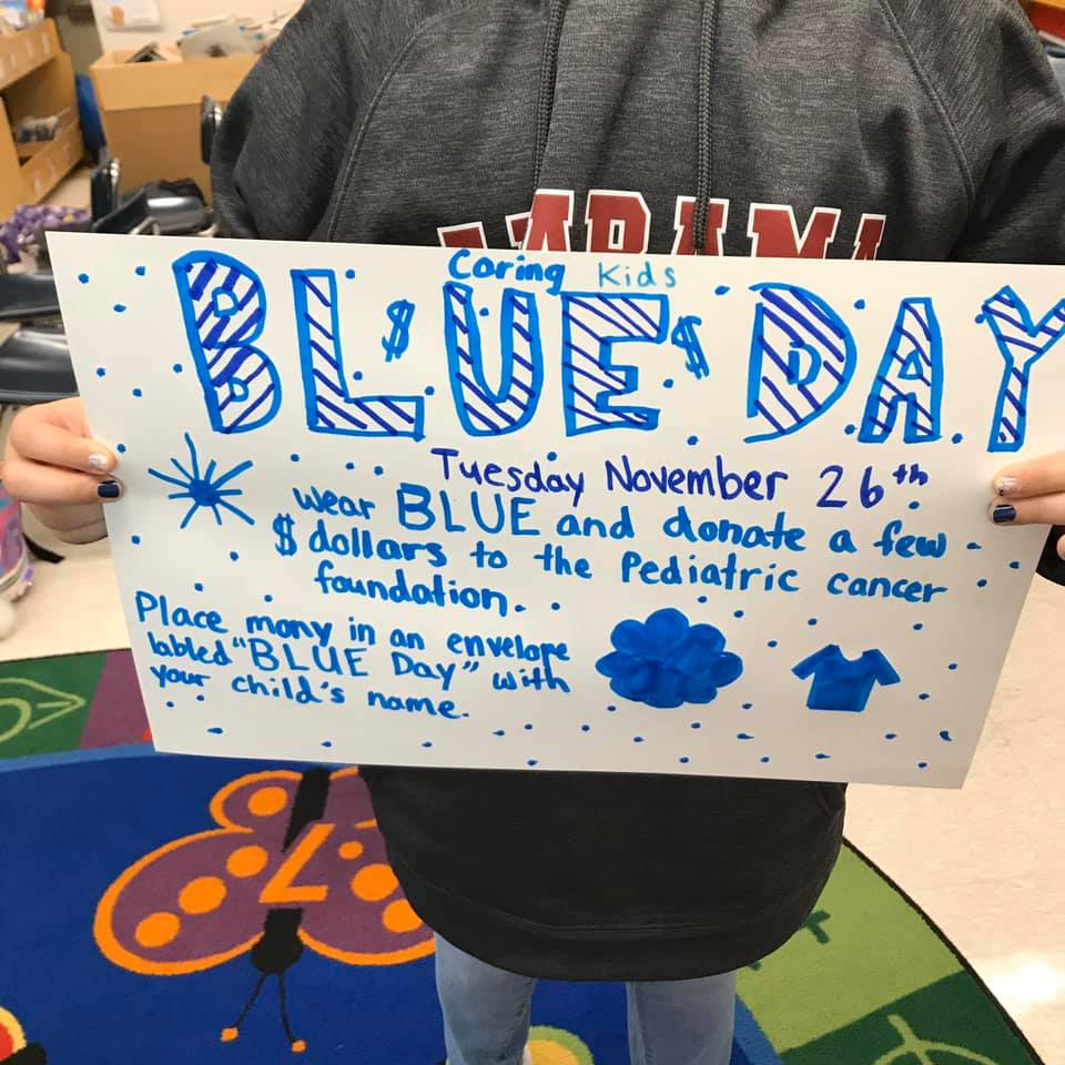 PCF Caring Kids Wear Blue Day