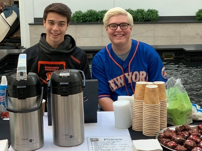Brothers Continue Selling Hot Cocoa To Fight Pediatric Cancer